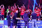09.06.2019, ISS Dome, Duesseldorf,  GER, 1. HBL. Herren, BHC vs. SG Flensburg Handewitt, <br /> <br /> im Bild / picture shows: <br /> Siegerehrung <br /> <br /> <br /> Foto © nordphoto / Meuter