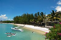 MUS, Mauritius, Grand Baie: Strand | MUS, Mauritius, Grand Baie: beach