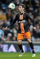 Valencia's Jonas Goncalves during King's Cup match. January 15, 2013. (ALTERPHOTOS/Alvaro Hernandez) /NortePhoto