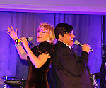 Broadway's Missy Keene and Dale Badway perform at The Times Square Broadway Royale hosted by 2013 Tony Award Winner Dale Badway on New Years Eve 2014 at the legendary Copacabana, New York City, New York. (Photo by Sue Coflin/Max Photos)