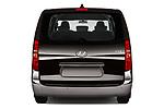 Straight rear view of a 2019 Hyundai H1-People Executive 5 Door Mini Van stock images