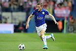 Leicester City FC's Jamie Vardy during Champions League 2016/2017 Quarter-finals 1st leg match. April 12,2017. (ALTERPHOTOS/Acero)