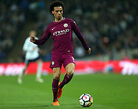 Leroy Sane of Manchester City during Tottenham Hotspur vs Manchester City, Premier League Football at Wembley Stadium on 14th April 2018