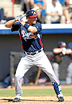 6 March 2007: Atlanta Braves outfielder Jeff Francoeur in Grapefruit League action against the Washington Nationals at Space Coast Stadium in Viera, Florida.<br /> <br /> Mandatory Photo Credit: Ed Wolfstein Photo