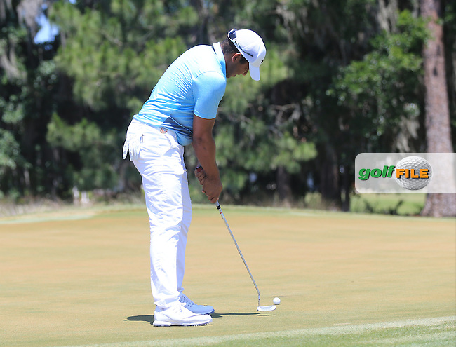 Jhonottan Vegas (VEN) during the Third Round of The Players, TPC Sawgrass, Ponte Vedra Beach, Jacksonville.   Florida, USA. 14/05/2016.<br /> Picture: Golffile   Mark Davison<br /> <br /> <br /> All photo usage must carry mandatory copyright credit (&copy; Golffile   Mark Davison)