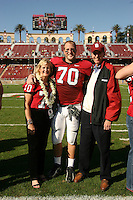 18 November 2006: Jeff Edwards during Stanford's 30-7 loss to Oregon State at Stanford Stadium in Stanford, CA.