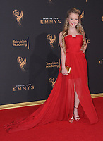 10 September  2017 - Los Angeles, California - Jade Pettyjohn. 2017 Creative Arts Emmys - Arrivals held at Microsoft Theatre L.A. Live in Los Angeles. <br /> CAP/ADM/BT<br /> &copy;BT/ADM/Capital Pictures