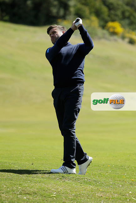 Robert Rock (ENG) during Round 2 of the NH Collection Open at the La Reserva de Sotogrande Club de Golf in Cadiz Spain on Friday 4th April 2014<br /> Picture:  Thos Caffrey / www.golffile.ie