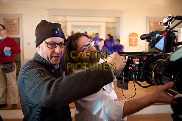 Director TODD GRAFF and director of photography DAVID BOYD.on the set of Joyful Noise.*Filmstill - Editorial Use Only*.CAP/FB.Supplied by Capital Pictures.
