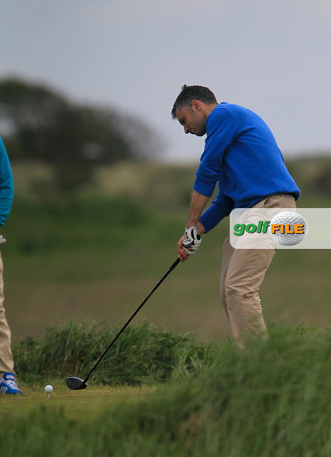 Mark O'Rourke (Royal Tara)<br /> during the 2nd round of the East of Ireland Amateur Open Championship 2013 Co Louth Golf club 2/6/13<br /> Picture:  Thos Caffrey / www.golffile.ie