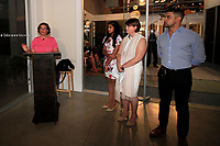 CLVER CITY - AUG 4: Sonia Nazario, Alejandra Valdez, Wendy Young, Wilmer Valderrama at Kind Los Angeles: Coming Together for Children Alone at Bolon at Helms Design Center on August 4, 2018 in Culver City, CA