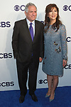 Les Moonves and Juile Chen arrives at the CBS Upfront at The Plaza Hotel in New York City on May 17, 2017.