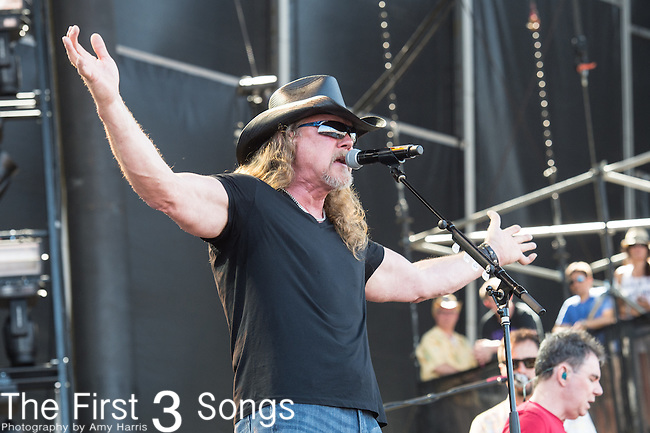Trace Adkins performs onstage during The Tortuga Music Festival in Fort Lauderdale, Florida.