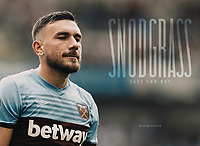 West Ham Utd Programme - 31-Aug-2019 - Robert Snodgrass of West Ham United - Photo by Rob Newell (Camerasport via Getty Images)