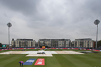 A gloomy outlook at Bristol - a general view of the ground from the press area during Pakistan vs Sri Lanka, ICC World Cup Cricket at the Bristol County Ground on 7th June 2019