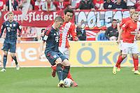 Bastian Schweinsteiger (Bayern) gegen Joo-Ho Park (Mainz) - 1. FSV Mainz 05 vs. FC Bayern München, Coface Arena, 26. Spieltag