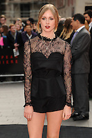 "Diana Vickers arrives for the ""Godzilla"" premiere at the Odeon Leicester Square, London. 11/05/2014 Picture by: Steve Vas / Featureflash"