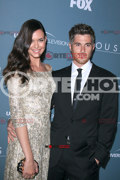 Odette Annable and David Annable at Fox's 'House' series finale wrap party at Cicada on April 20, 2012 in Los Angeles, California. © mpi21/MediaPunch Inc.