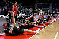 Brose's team during Euroliga match. February 28,2013.(ALTERPHOTOS/Alconada)