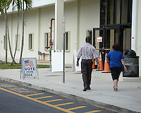 CORAL SPRINGS, FL - NOVEMBER 08: Atmosphere during ElectionDay at the Coral Springs Library on November 8, 2016 in Coral Springs, Florida. Photo by MPI04 / MediaPunch