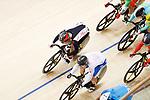 Yuta Wakimoto (JPN), <br /> AUGUST 31, 2018 - Cycling - Track : <br /> Men's Keirin Round 1 <br /> at Jakarta International Velodrome <br /> during the 2018 Jakarta Palembang Asian Games <br /> in Jakarta, Indonesia. <br /> (Photo by Naoki Morita/AFLO SPORT)