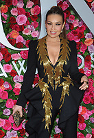NEW YORK, NY - JUNE 10: Thalia attends the 72nd Annual Tony Awards at Radio City Music Hall on June 10, 2018 in New York City.  <br /> CAP/MPI/JP<br /> &copy;JP/MPI/Capital Pictures