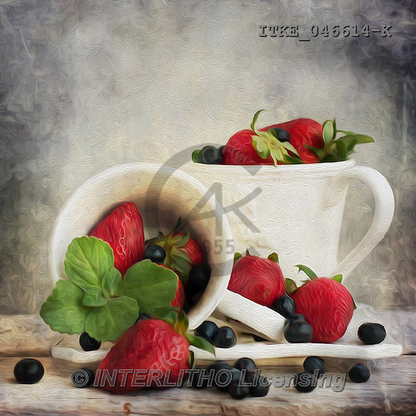 Isabella, MODERN, MODERNO, strawberries+++++,ITKE046614-K,#n# ,everyday