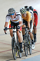 Pieter Bulling of Southland leads out front of the Elite Men Omnium 2 Tempo race 10km at the Age Group Track National Championships, Avantidrome, Home of Cycling, Cambridge, New Zealand, Saturday, March 18, 2017. Mandatory Credit: © Dianne Manson/CyclingNZ  **NO ARCHIVING**
