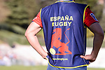 Spain's team during Rugby Europe Championship 2017 match between Spain and Belgium in Madrid. March 18, 2017. (ALTERPHOTOS/Borja B.Hojas)