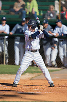 Jackson Raper (14) of the Catawba Indians at bat against the Wingate Bulldogs at Newman Park on March 19, 2017 in Salisbury, North Carolina.  The Indians defeated the Bulldogs 12-6.  (Brian Westerholt/Four Seam Images)