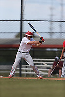 Garrett Frechette (70) of Cathedral Catholic High School in Vista, California during the Under Armour Baseball Factory National Showcase, Florida, presented by Baseball Factory on June 12, 2018 the Joe DiMaggio Sports Complex in Clearwater, Florida.  (Nathan Ray/Four Seam Images)