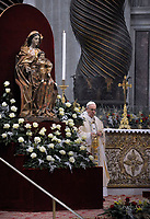 Pope Francis mass. the Solemnity of Epiphany at St Peter's basilica at the Vatican. January 6, 2018