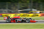 19 July 2008: Bruno Junqueira (BRA) at the Honda Indy 200 IndyCar race at the Mid-Ohio Sports Car Course, Lexington, Ohio, USA.