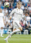 Real Madrid's Toni Kroos during La Liga match. April 29,2015. (ALTERPHOTOS/Acero)