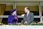 HRH The Queen - Doncaster Races