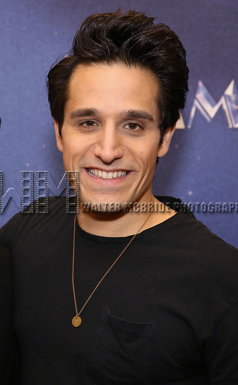 """Jared Zirilli attends the Meet & Greet for """"Summer: The Donna Summer Musical"""" on March 8, 2018 at the New 42nd Street Studios,  in New York City."""