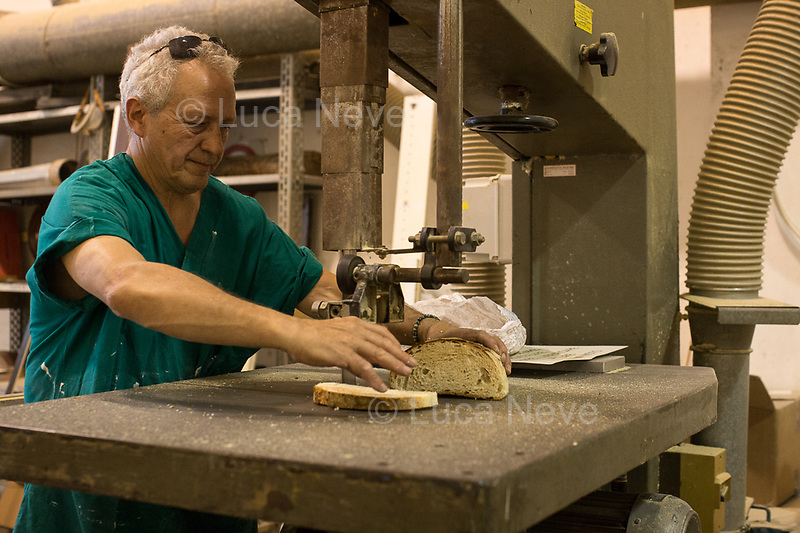 """Stefano """"Geppetto"""", Wood Worker, Carpenter, Maestro and Cook.<br /> <br /> Rome, 01/05/2019. This year I will not go to a MayDay Parade, I will not photograph Red flags, trade unionists, activists, thousands of members of the public marching, celebrating, chanting, fighting, marking the International Worker's Day. This year, I decided to show some of the Workers I had the chance to meet and document while at Work. This Story is dedicated to all the people who work, to all the People who are struggling to find a job, to the underpaid, to the exploited, and to the people who work in slave conditions, another way is really possible, and it is not the usual meaningless slogan: MAKE MAYDAY EVERYDAY!<br /> <br /> Happy International Workers Day, long live MayDay!"""