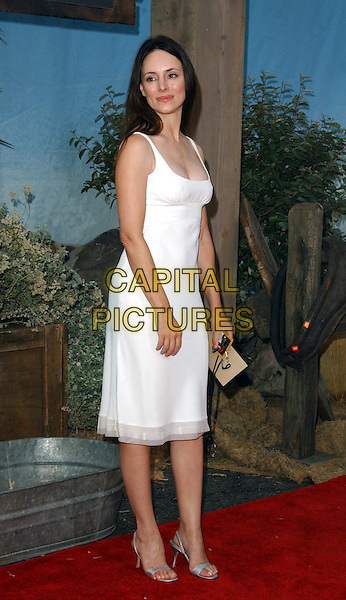 MADELEINE STOWE - MADELINE STOWE.Open Range LA Film Premiere at the Arclight Cinerama Dome in Hollywood..www.capitalpictures.com.sales@capitalpictures.com.©Capital Pictures..full length, full-length, white chiffon dress