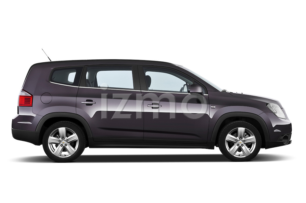 2013 Chevrolet Orlando LTZ+ MPV Passenger Side View Stock Photo