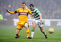12/12/2009  Copyright  Pic : James Stewart.sct_jspa23_motherwell v celtic  . :: MARK REYNOLDS STOPS AIDEN MCGEADY :: .James Stewart Photography 19 Carronlea Drive, Falkirk. FK2 8DN      Vat Reg No. 607 6932 25.Telephone      : +44 (0)1324 570291 .Mobile              : +44 (0)7721 416997.E-mail  :  jim@jspa.co.uk.If you require further information then contact Jim Stewart on any of the numbers above.........