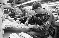 24 Mar 1970. Due to an eight-day postal workers' strike in 30 major U.S. cities, President Nixon called in the U.S. Army to sort and deliver the mail.