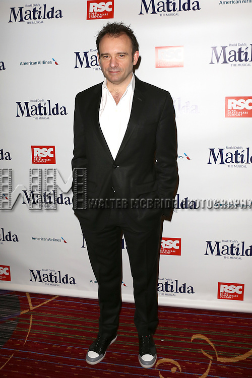 Matthew Warchus attending the Broadway Opening Night Performance After Party for 'Matilda The Musical' at the Marriott Marquis Hotel in New York City on 4/11/2013