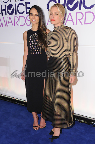 15 November 2016 - Beverly Hills, California - Jordana Brewster, Piper Perabo. 2017 People's Choice Awards Announcements held at The Paley Center for Media. Photo Credit: Birdie Thompson/AdMedia