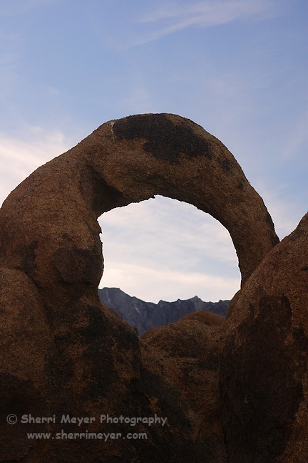 Arch in the Alabama Hills, Lone Pine, California