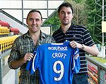 St Johnstone Players Sponsors Night, McDiarmid Park...09.05.12.Lee Croft.Picture by Graeme Hart..Copyright Perthshire Picture Agency.Tel: 01738 623350  Mobile: 07990 594431