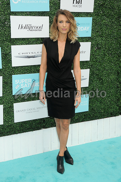 16 May 2015 - Santa Monica, California - Natalie Zea. 2nd Annual OCRF Super Saturday LA held at Barker Hangar. Photo Credit: Byron Purvis/AdMedia