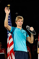 Kevin Anderson of South Africa after the Men's Final on day 14 of the Us Open 2017 at USTA Billie Jean King National Tennis Center on September 10, 2017 in New York City. (Photo by Marek Janikowski/Icon Sport)