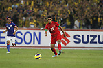 Malaysia vs Indonesia during the AFF Suzuki Cup 2012 Group B match on December 01, 2012 at the Bukit Jalil National Stadium in Kuala Lumpur, Malaysia. Photo by World Sport Group