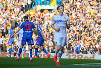 Leeds United's Patrick Bamford celebrates scoring the opening goal from the penalty spot<br /> <br /> Photographer Alex Dodd/CameraSport<br /> <br /> The EFL Sky Bet Championship - Leeds United v Bolton Wanderers - Saturday 23rd February 2019 - Elland Road - Leeds<br /> <br /> World Copyright © 2019 CameraSport. All rights reserved. 43 Linden Ave. Countesthorpe. Leicester. England. LE8 5PG - Tel: +44 (0) 116 277 4147 - admin@camerasport.com - www.camerasport.com