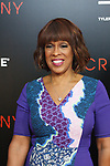 "Journalist Gayle King arrives on the red-carpet for the Tyler Perry""s ACRIMONY movie premiere at the School of Visual Arts Theatre in New York City, on March 27, 2018."